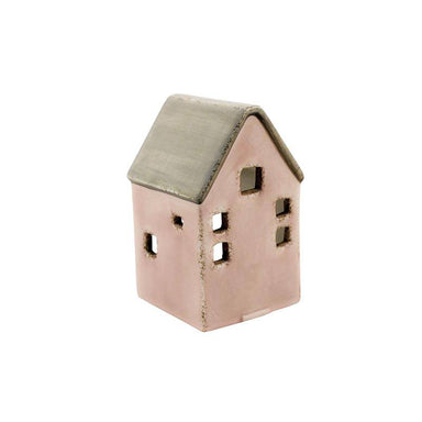 Linens & More Pink House Tea Light Holder | Koop.co.nz