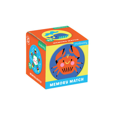 Mudpuppy Mini Memory Match – Under The Sea (24pc) | Koop.co.nz