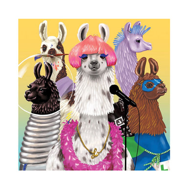 Mudpuppy Llama Rama Jigsaw Puzzle (500pc) | Koop.co.nz