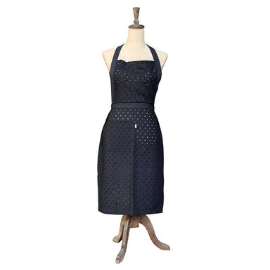 Raine & Humble Black Cygnett Lace Apron | Koop.co.nz