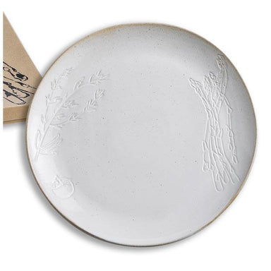 Rosanna Inc Farm to Table Debossed Plate - Asparagus | Koop.co.nz