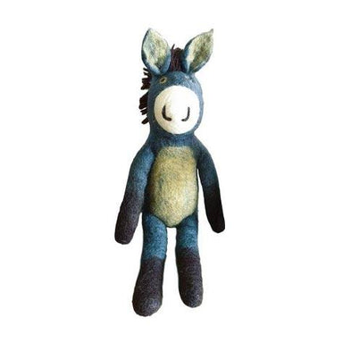Tik Tak Handmade NZ Wool Donkey – Small | Koop.co.nz