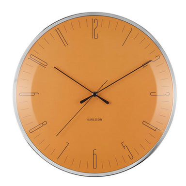 Karlsson Dragonfly Yellow Wall Clock (40cm) | Koop.co.nz