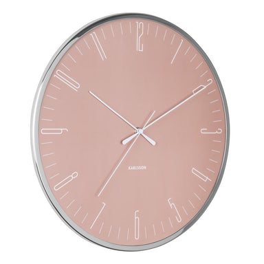 Karlsson Dragonfly Pink Wall Clock (40cm) | Koop.co.nz