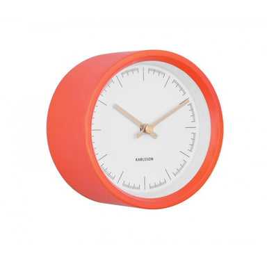 Karlsson Dense Wall Clock - Coral Pink (12.5cm) | Koop.co.nz