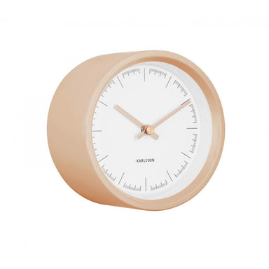Karlsson Dense Wall Clock - Sand Brown (12.5cm) | Koop.co.nz