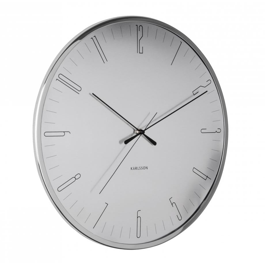Karlsson Dragonfly Aluminium Wall Clock (40cm) | Koop.co.nz