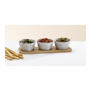 Ladelle Artisan Deep Bowl Serving Set (4pc) | Koop.co.nz