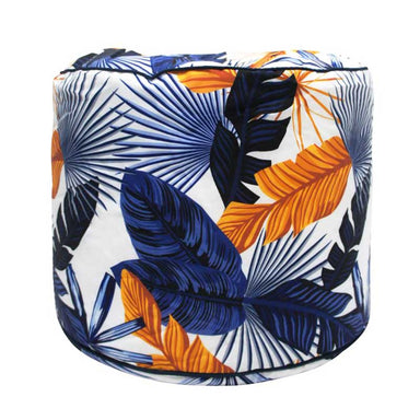 Stoneleigh & Roberson Palm Outdoor Pouf | Koop.co.nz