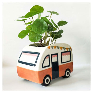 Urban Products Retro Terracotta Caravan Planter | Koop.co.nz