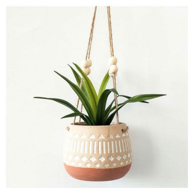 Urban Products Kyra Hanging Planter - Terracotta | Koop.co.nz
