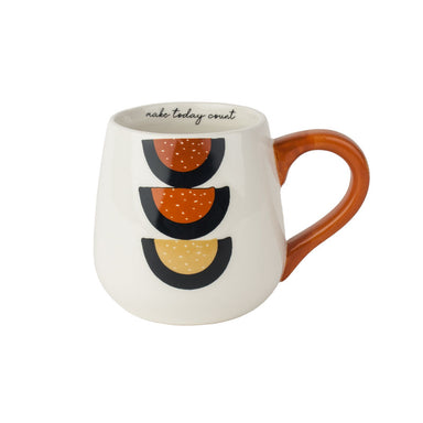 Urban Products Woodstock Rainbow Dot Mug - Make Today Count | Koop.co.nz