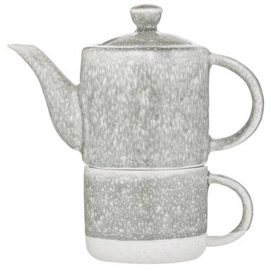 Leaf & Bean Reactive Glaze Teapot For One with Infuser (500ml) | Koop.co.nz