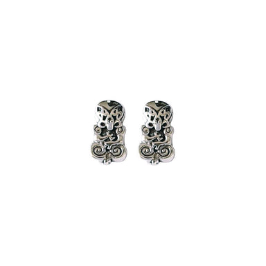 Sterling Tiki Stud Earrings | Koop.co.nz