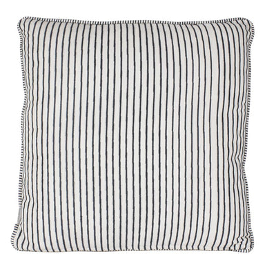 Rembrandt Fine Arts Embroidered Stripe Cushion (45cm) | Koop.co.nz