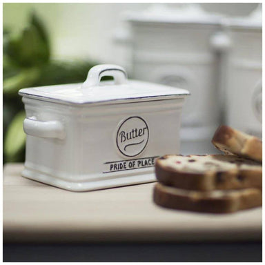 T&G Pride Of Place Butter Dish - White | Koop.co.nz