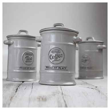 T&G Pride Of Place Coffee Jar - Grey | Koop.co.nz