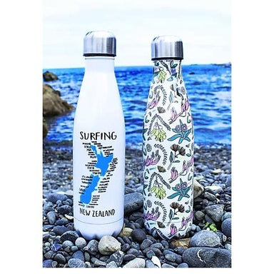 Moana Road Stainless Steel Bottle - Surfing NZ (500ml) | Koop.co.nz
