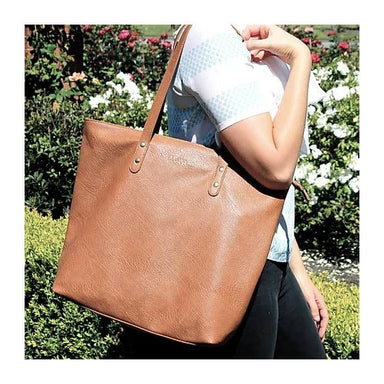 Moana Road Khandallah Tote Bag - Tan | Koop.co.nz