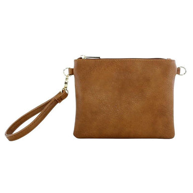 Moana Road Viaduct Clutch Bag - Tan | Koop.co.nz