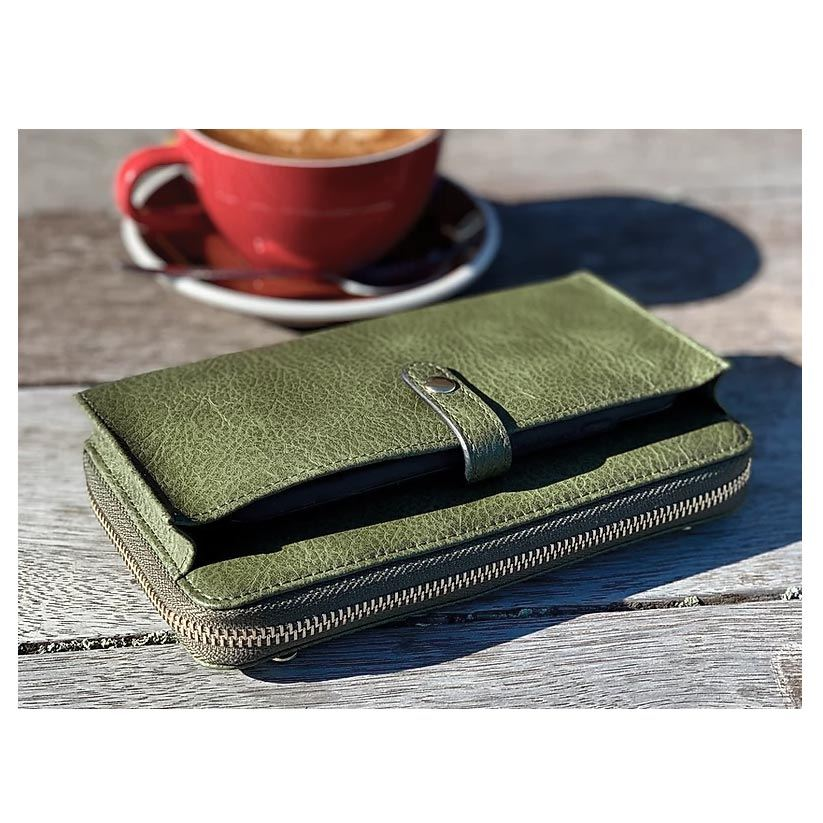 Moana Road Fitzroy Ladies Wallet - Green | Koop.co.nz