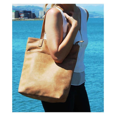 Moana Road Fendalton Tote Bag - Tan | Koop.co.nz