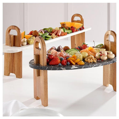 Ladelle Tapas Plank Serving Board - White Stone (45cm) | Koop.co.nz