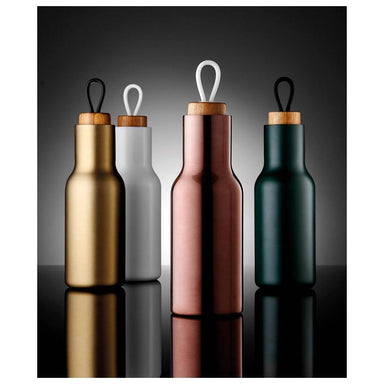 Ladelle Tempa Drink Bottle - Matte Black (600ml) | Koop.co.nz