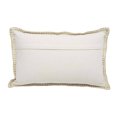 Stoneleigh & Roberson Sundai Blanket Stitch Rectangle Cushion | Koop.co.nz