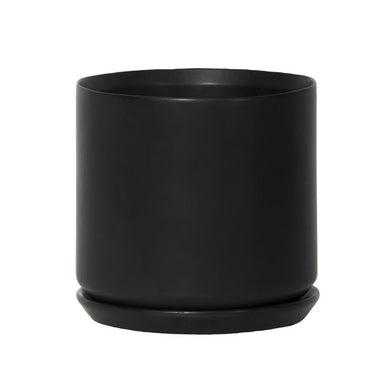 Potted / General Eclectic Oslo Planter - Black | Koop.co.nz