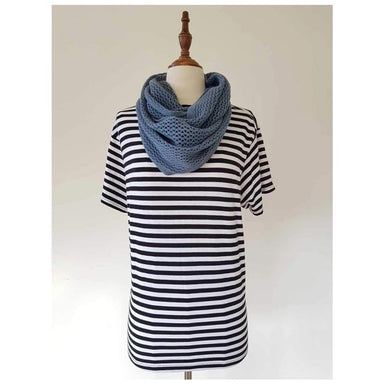 Hello Friday MVP Infinity Scarf - Denim | Koop.co.nz