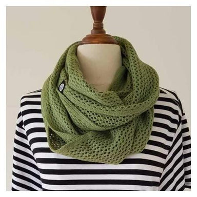 Hello Friday MVP Infinity Scarf - Sage | Koop.co.nz