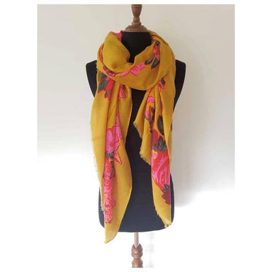 Hello Friday Frida Scarf - Mustard | Koop.co.nz