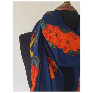 Hello Friday Frida Scarf - Navy | Koop.co.nz