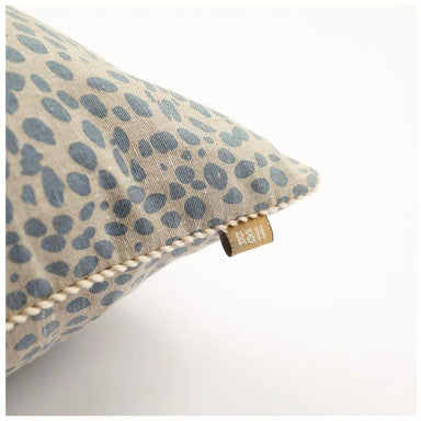 Raine & Humble Animal Print Cushion - Light Blue (45cm) | Koop.co.nz