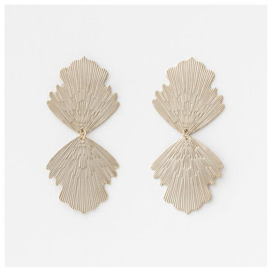 Stella & Gemma Double Luck Earrings - Pewter | Koop.co.nz