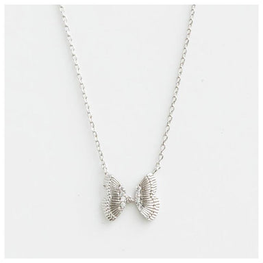 Stella & Gemma Papillon Necklace - Silver | Koop.co.nz