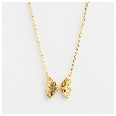 Stella & Gemma Papillon Necklace - Gold | Koop.co.nz