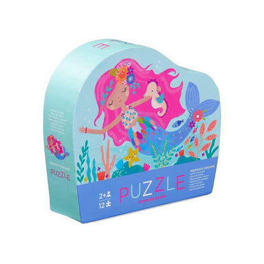 Crocodile Creek Mermaid Dreams Mini Puzzle (12pc) | Koop.co.nz