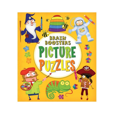 Hinkler Brain Boosters - Picture Puzzles Activity Book | Koop.co.nz