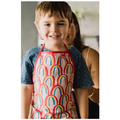 Annabel Trends Cotton Kids Apron - Rainbow | Koop.co.nz