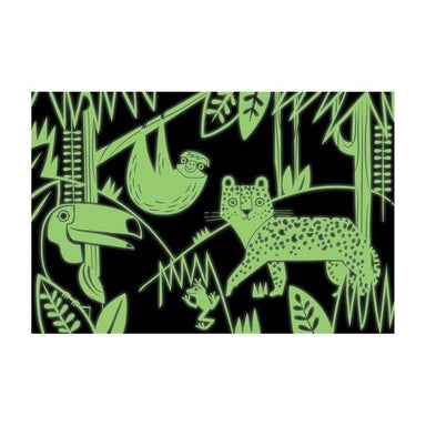 Mudpuppy Glow in the Dark Puzzle - Rainforest (100pc) | Koop.co.nz