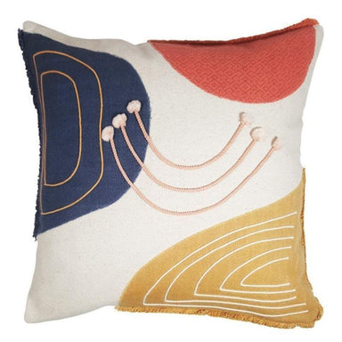 Urban Products Saree Abstract Cushion (45cm) | Koop.co.nz