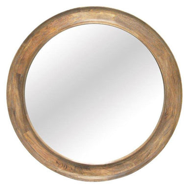 Banyan Home Opus Wood Carved Mirror (109cm) | Koop.co.nz