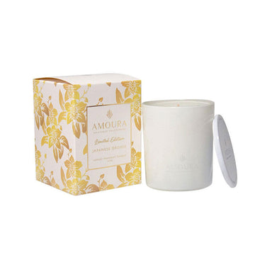 Amoura Luxury Fragrant Candle - Japanese Orchid | Koop.co.nz