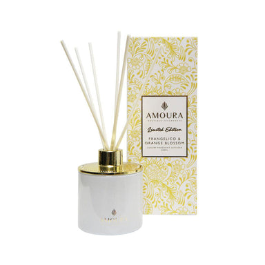 Amoura Luxury Fragrant Diffuser - Frangelico & Orange Blossom | Koop.co.nz