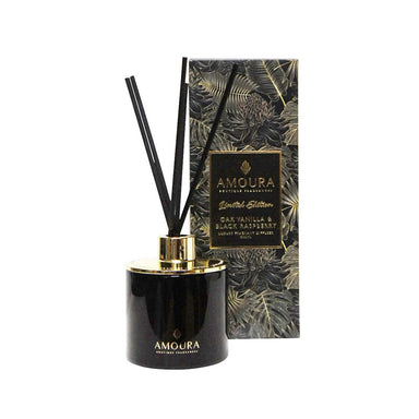 Amoura Luxury Fragrant Diffuser - Oak Vanilla & Raspberry | Koop.co.nz