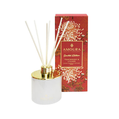 Amoura Luxury Fragrant Diffuser - Teakwood & Lychee | Koop.co.nz