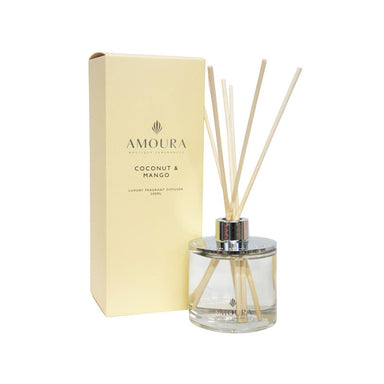 Amoura Luxury Fragrant Diffuser - Coconut & Mango | Koop.co.nz