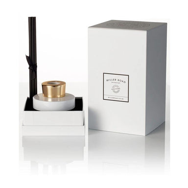 Miller Road Devonport Luxury Reed Diffuser – Bamboo & White Lily | Koop.co.nz